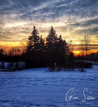 Winter's Sunset II