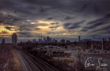 Toronto in Clouds II