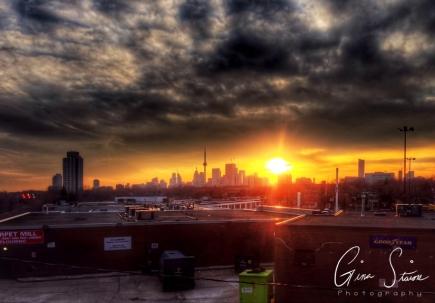 Sunset on January 30 III