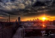 Sunset on January 30 IV