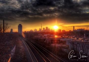 Sunset on January 30 II