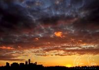 Sunset on May 5 III