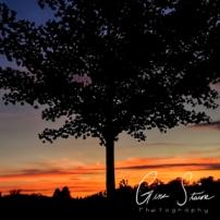 Sunset on June 2, 2016 III