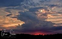 Sunset on July 28, 2016. III