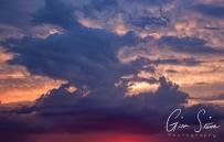 Sunset on July 28, 2016. IV