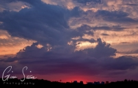 Sunset on July 28, 2016. V