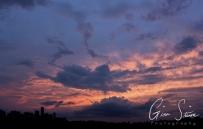 Sunset on July 28, 2016. VI
