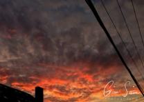 Sunset on July 29, 2016. III