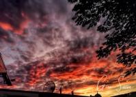 Sunset on July 29, 2016. IV