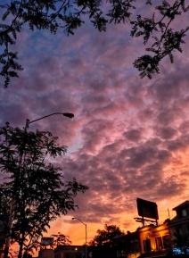 Sunset on July 29, 2016. VIII