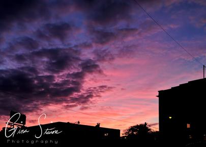 Sunset on July 29, 2016. XI