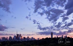 Sunset on August 23, 2016. VII