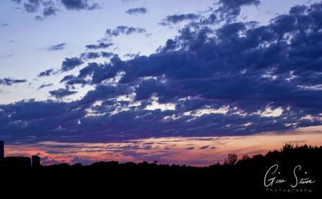 Sunset on August 23, 2016. VIII