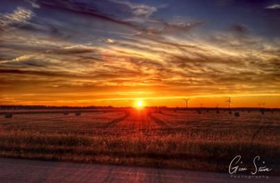 Sunset on August 14, 2016. IV