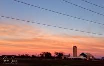 Sunset on August 14, 2016. VI