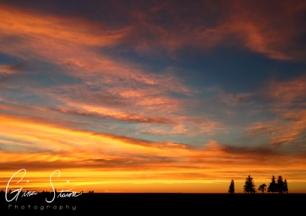 Sunset on August 14, 2016. VIII