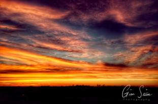 Sunset on August 14, 2016. IX