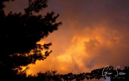 Sunset on September 1, 2016. VI