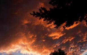 Sunset on September 1, 2016. X