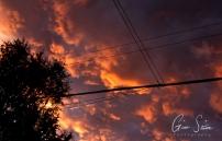 Sunset on September 1, 2016. XII