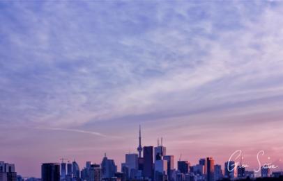 Sunset on September 6, 2016. I