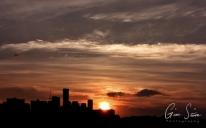 Sunset on September 6, 2016. II