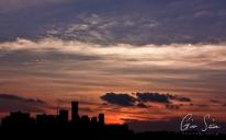 Sunset on September 6, 2016. III