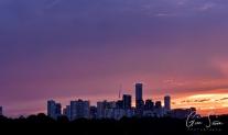 Sunset on September 10, 2016. III