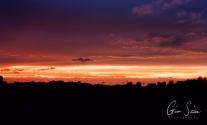Sunset on September 10, 2016. IV