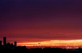 Sunset on September 10, 2016. VI