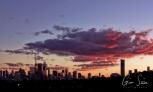 Sunset on September 14, 2016. V