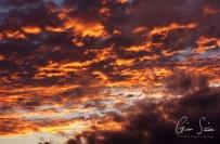 Sunset on September 17, 2016. XII