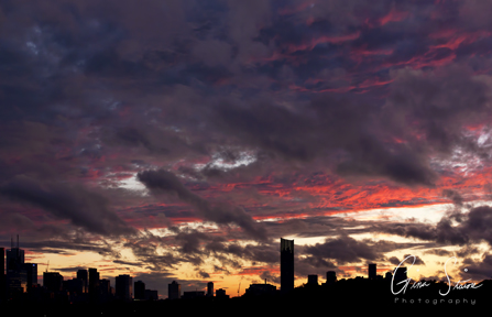 Sunset on September 17, 2016. XXI