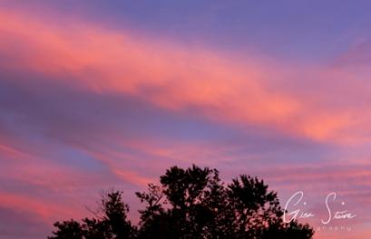 Sunset on September 18, 2016. I