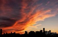 Sunset on September 18, 2016. II