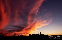 Sunset on September 18, 2016. III
