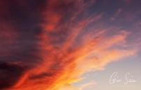 Sunset on September 18, 2016. IV
