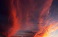 Sunset on September 18, 2016. V