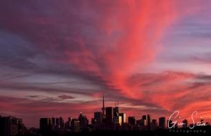 Sunset on September 18, 2016. VII