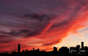 Sunset on September 18, 2016. VIII