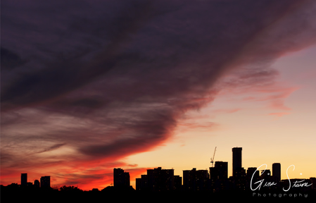 Sunset on September 18, 2016. IX