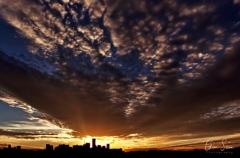 Sunset on September 21, 2016. IV