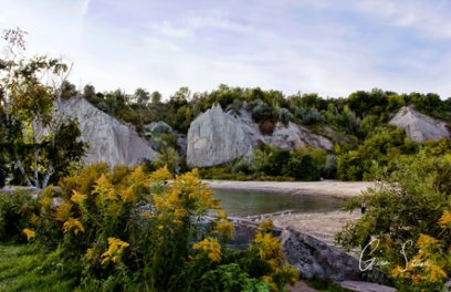 Scarborough Bluffs on September 25, 2016. VI
