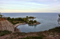 Scarborough Bluffs on September 25, 2016. XII