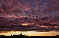 Sunset on September 26, 2016. V