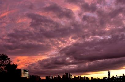 Sunset on September 26, 2016. VI