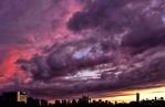 Sunset on September 26, 2016. IX