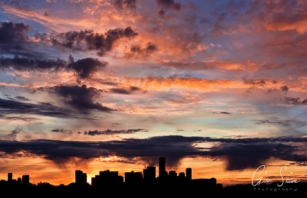 Sunset on October 11, 2016. IV