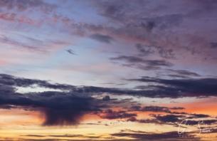 Sunset on October 11, 2016. V