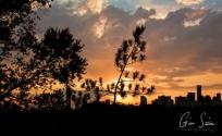 Sunset on October 12, 2016. III